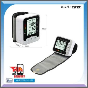 Automatic Digital Wrist Blood Pressure Monitor with Heart Rate Monitor